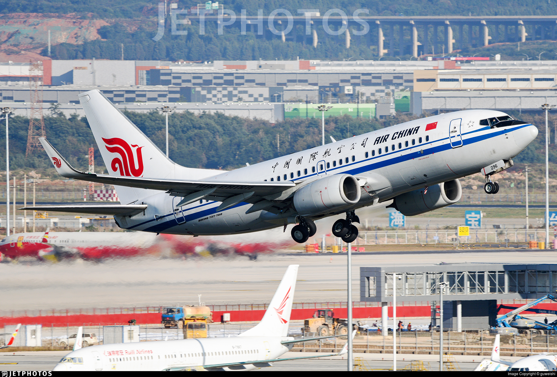 B-5296 - Boeing 737-79L - Air China