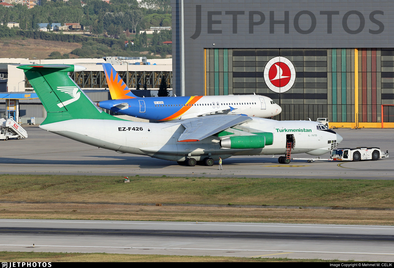 EZ-F426 - Ilyushin IL-76TD - Turkmenistan Airlines