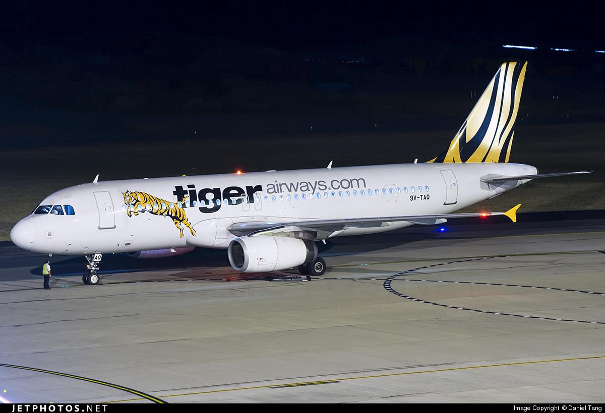 9V-TAQ - Airbus A320-232 - Tiger Airways
