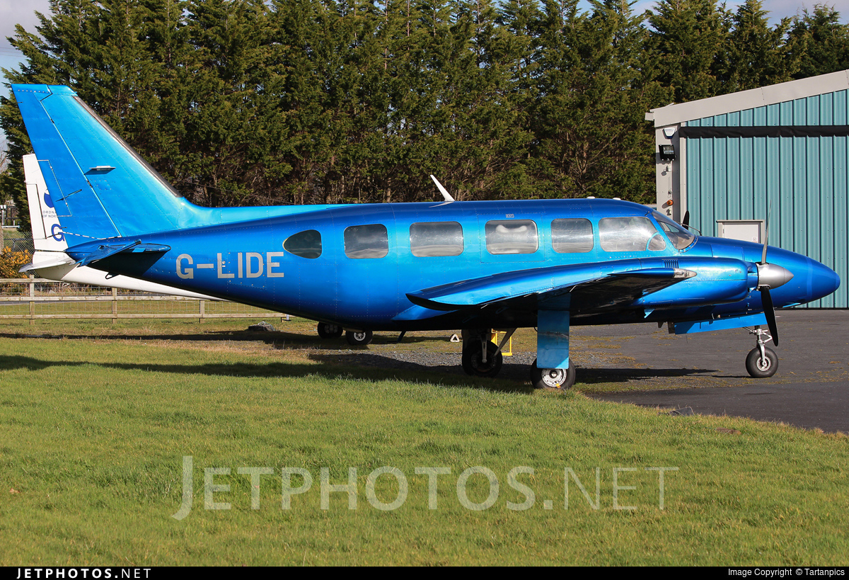 G-LIDE - Piper PA-31-350 Navajo Chieftain - Woodgate Aviation