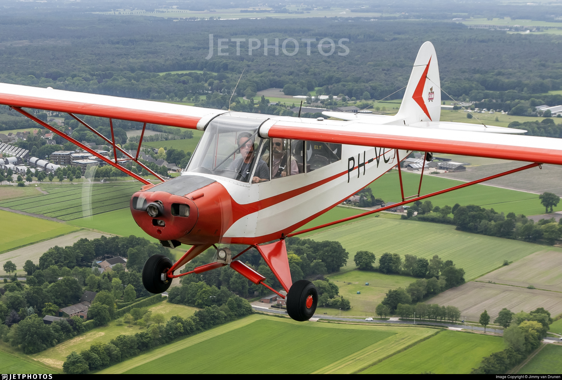PH-VCY - Piper PA-18-95 Super Cub - Private