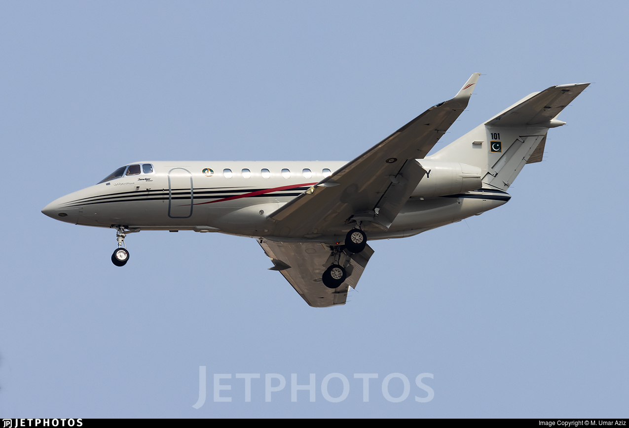 101 - Hawker Beechcraft 850XP - Pakistan - Navy
