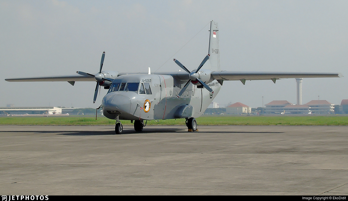 U-6207 - CASA C-212-200 Aviocar - Indonesia - Naval Air Arm