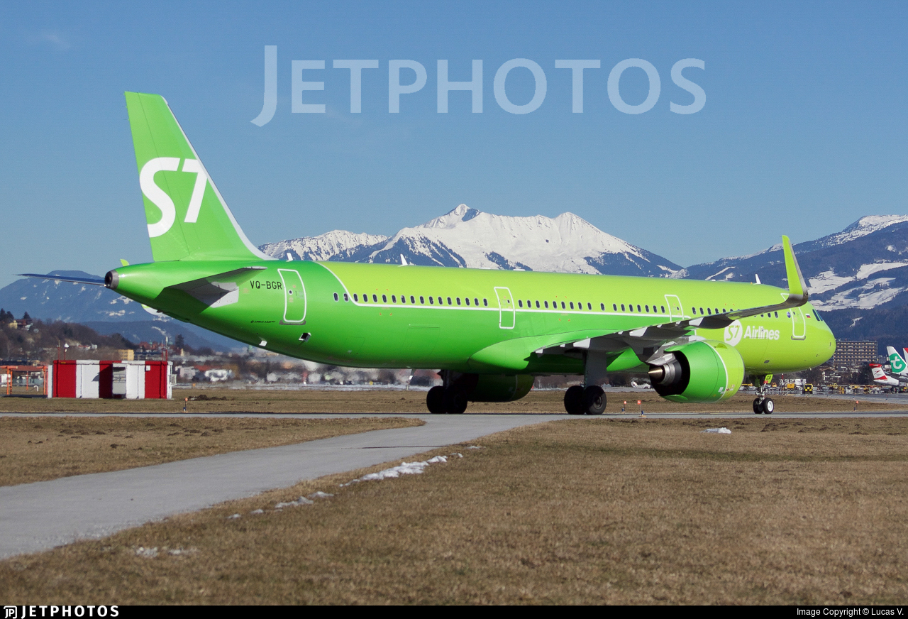 VQ-BGR - Airbus A321-271N - S7 Airlines