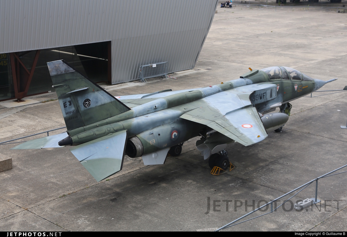 E3 | Sepecat Jaguar E | France - Air Force | Guillaume BACH