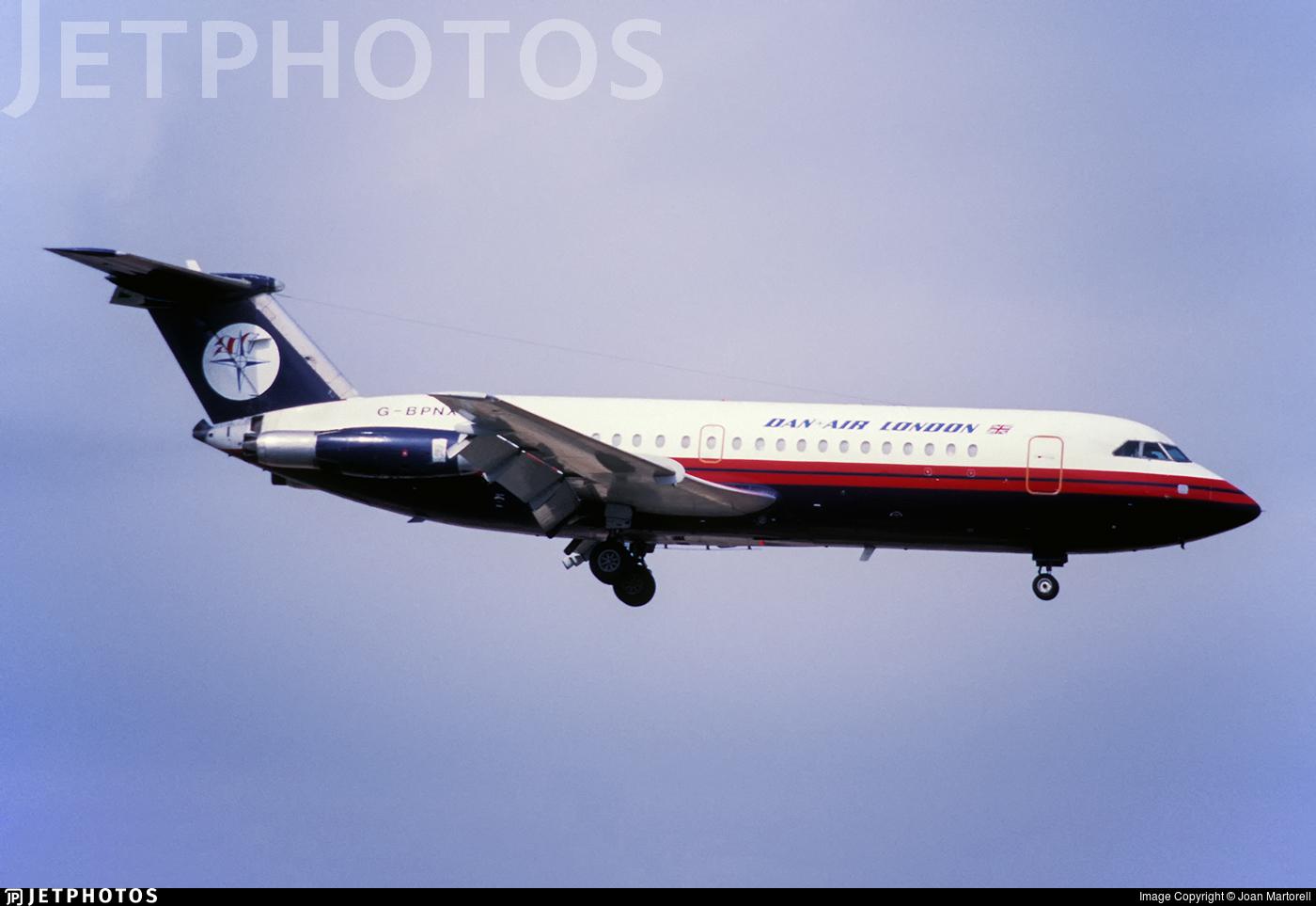 G-BPNX - British Aircraft Corporation BAC 1-11 Series 304AX - Dan-Air London