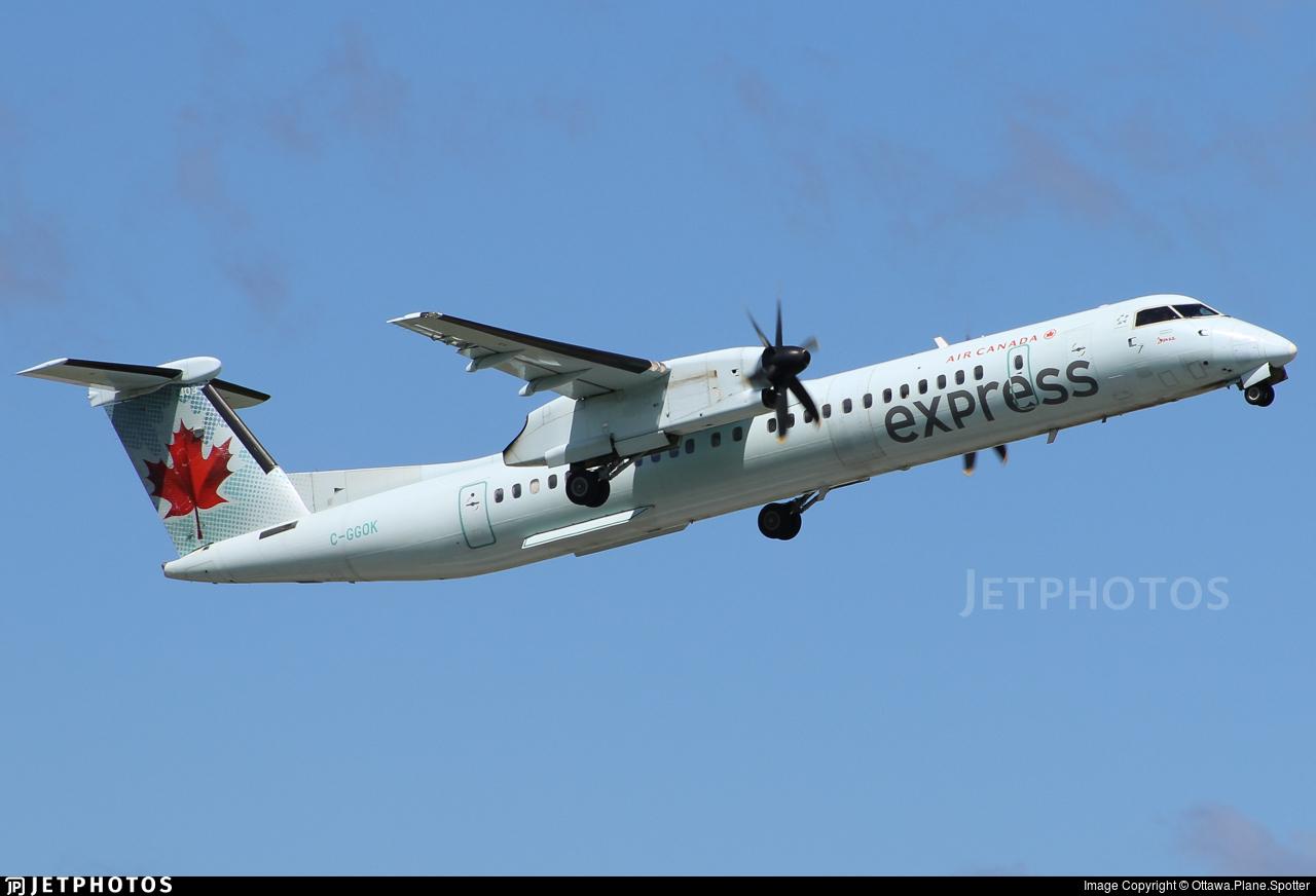 C-GGOK - Bombardier Dash 8-Q402 - Air Canada Express (Jazz Aviation)