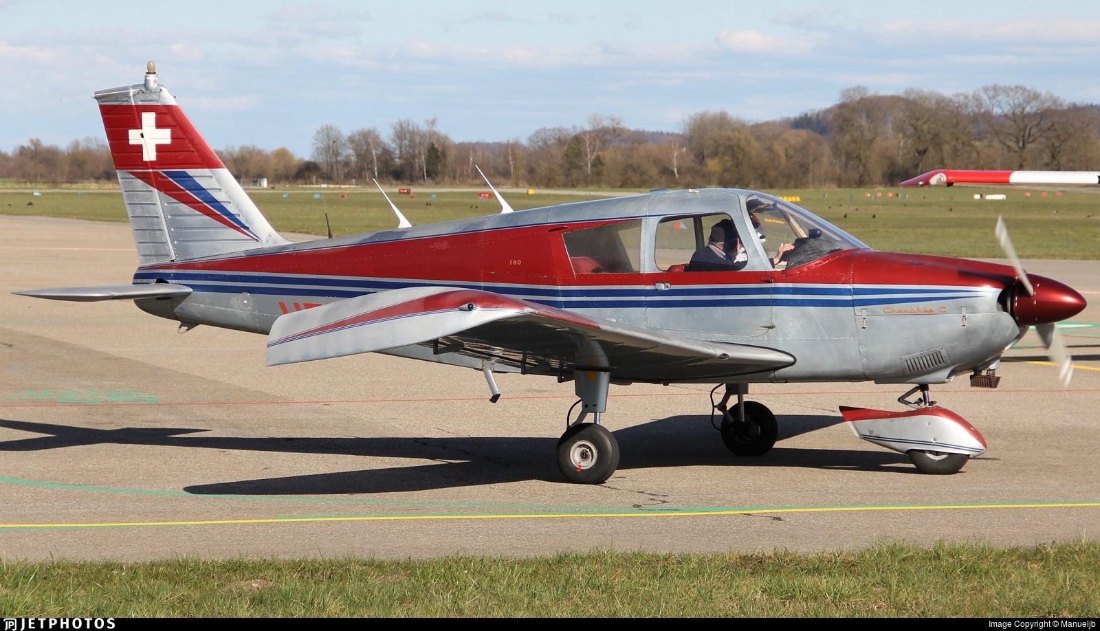 HB-OHC - Piper PA-28-180 Cherokee C - EFOS Flight-Charter