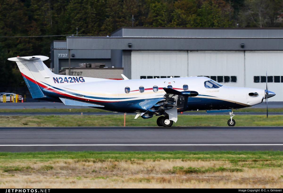 N242NG - Pilatus PC-12/47E - Private