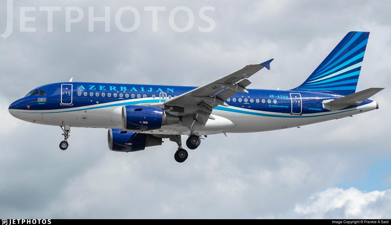 4K-AZ03 - Airbus A319-111 - AZAL Azerbaijan Airlines
