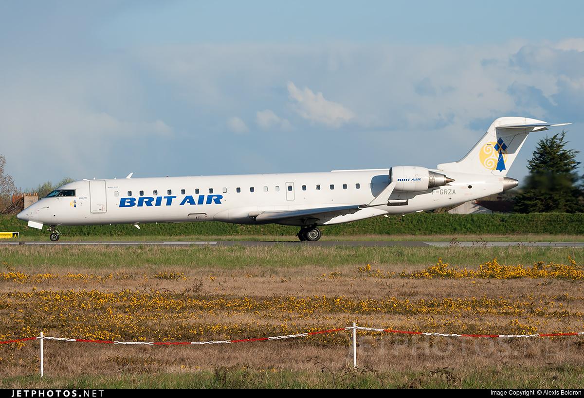 F-GRZA - Bombardier CRJ-701 - Brit Air