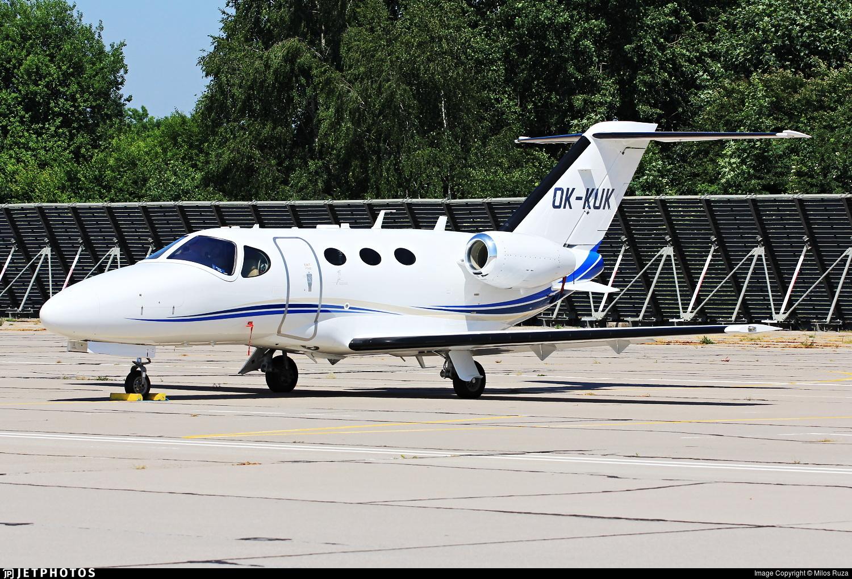 OK-KUK - Cessna 510 Citation Mustang - Aeropartner