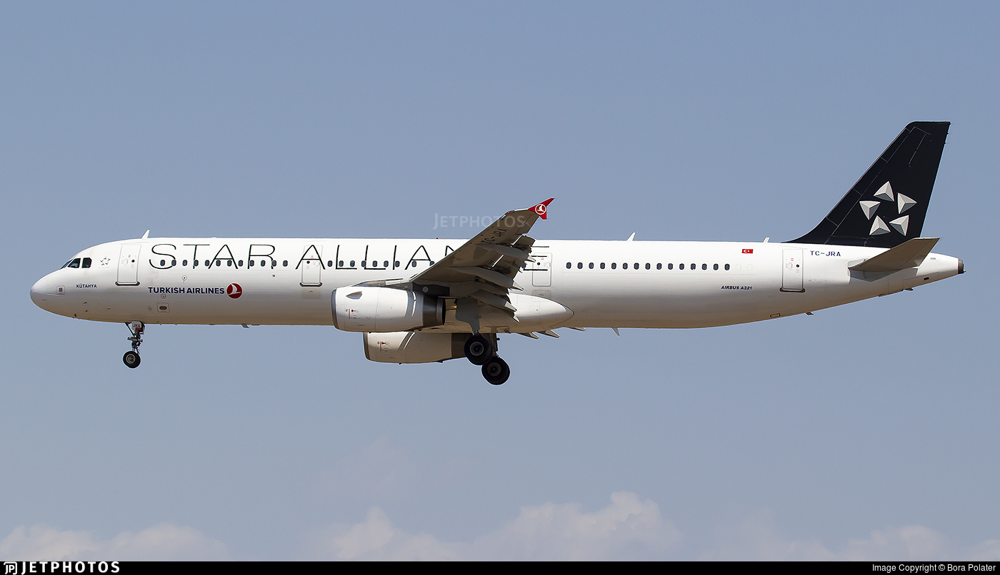 TC-JRA - Airbus A321-231 - Turkish Airlines