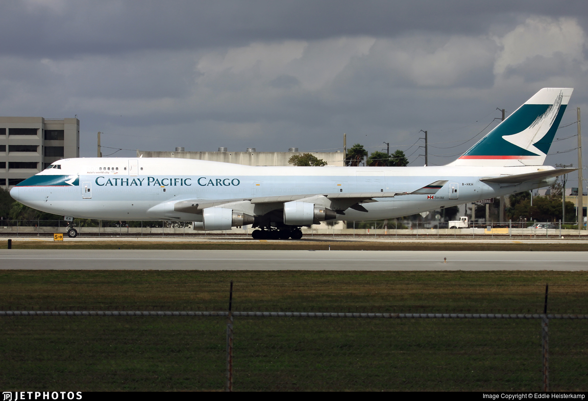 B-HKH - Boeing 747-412(BCF) - Cathay Pacific Cargo