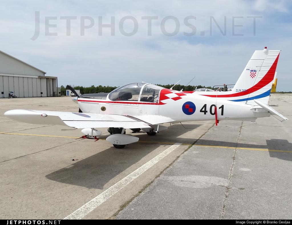 401 - Zlin Z-242L - Croatia - Air Force