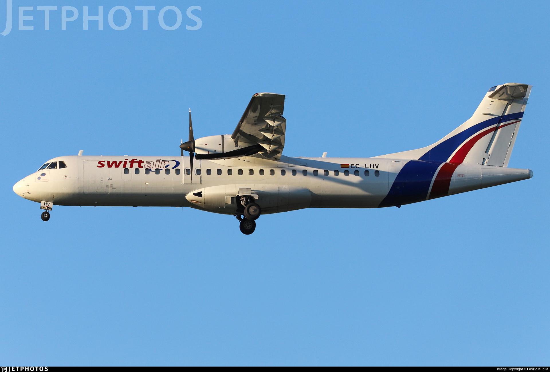 EC-LHV - ATR 72-202(F) - Swiftair