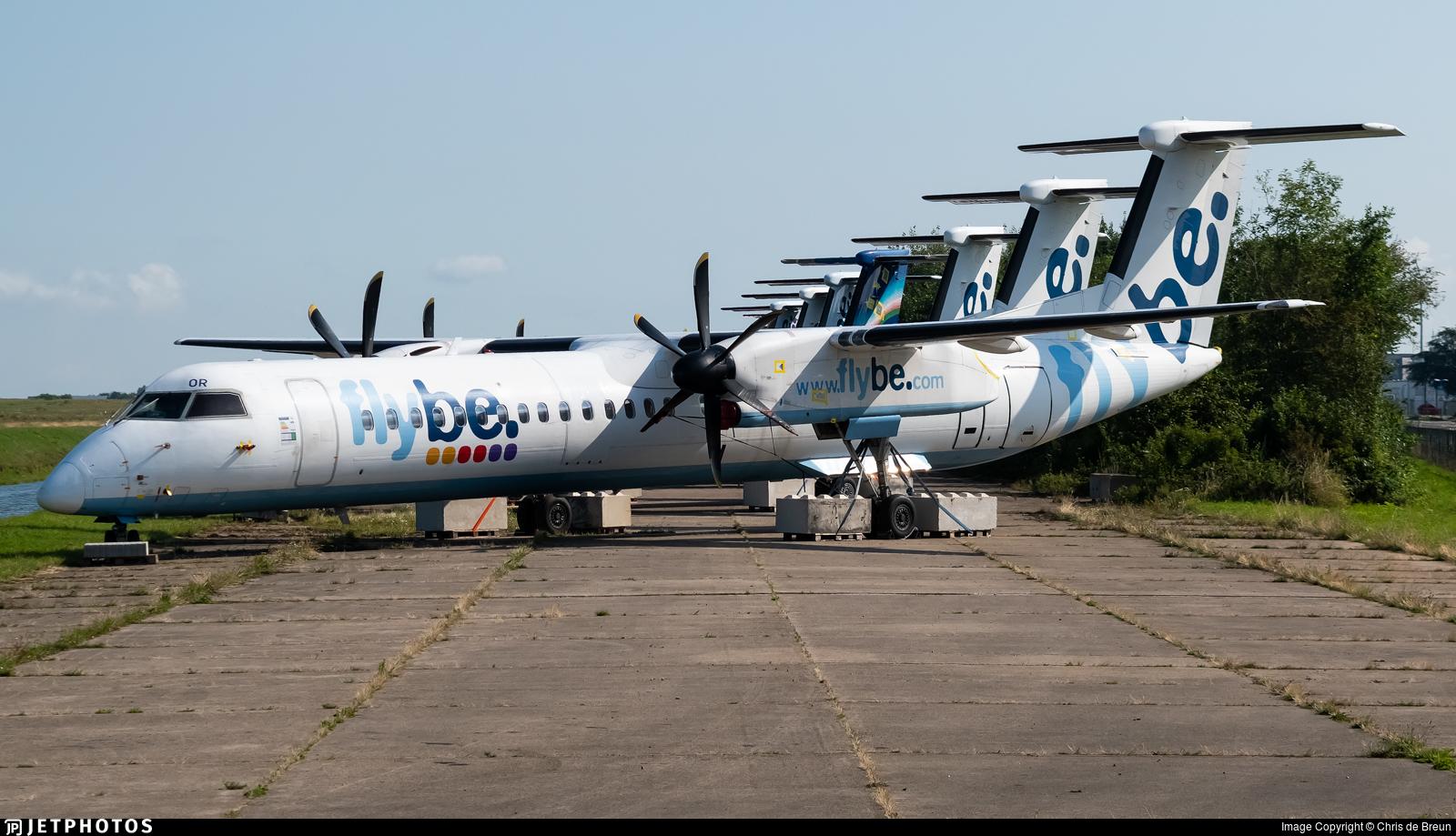 G-ECOR - Bombardier Dash 8-Q402 - Flybe