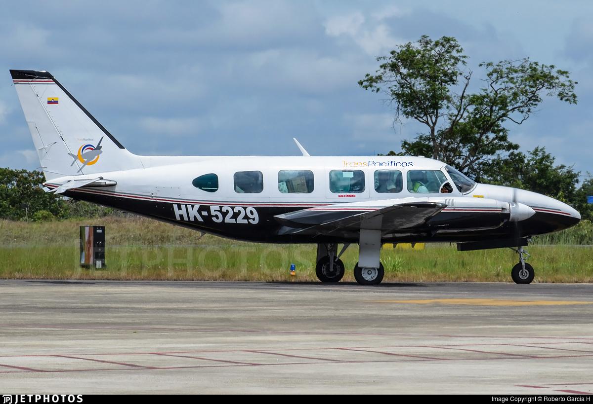 HK-5229 - Piper PA-31-350 Navajo Chieftain - Transpacificos