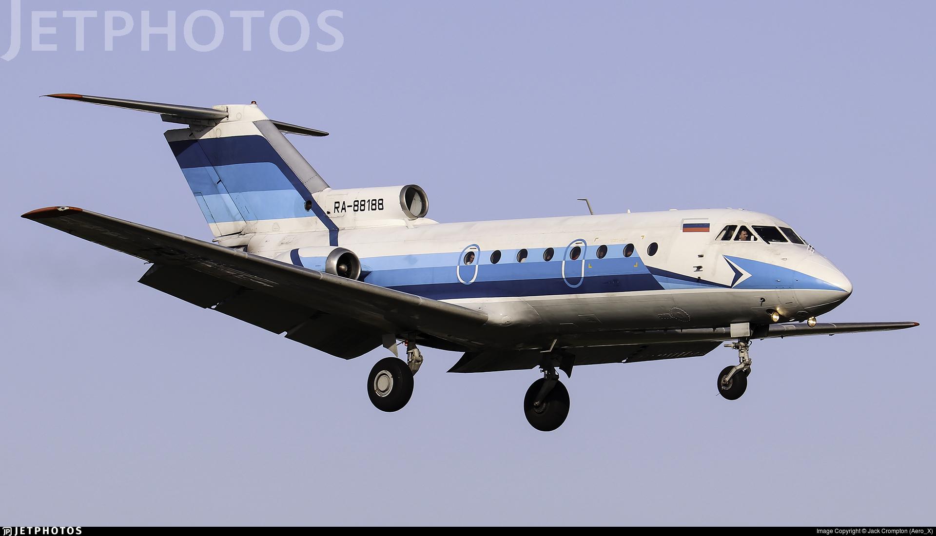 RA-88188 - Yakovlev Yak-40 - Vologda Air