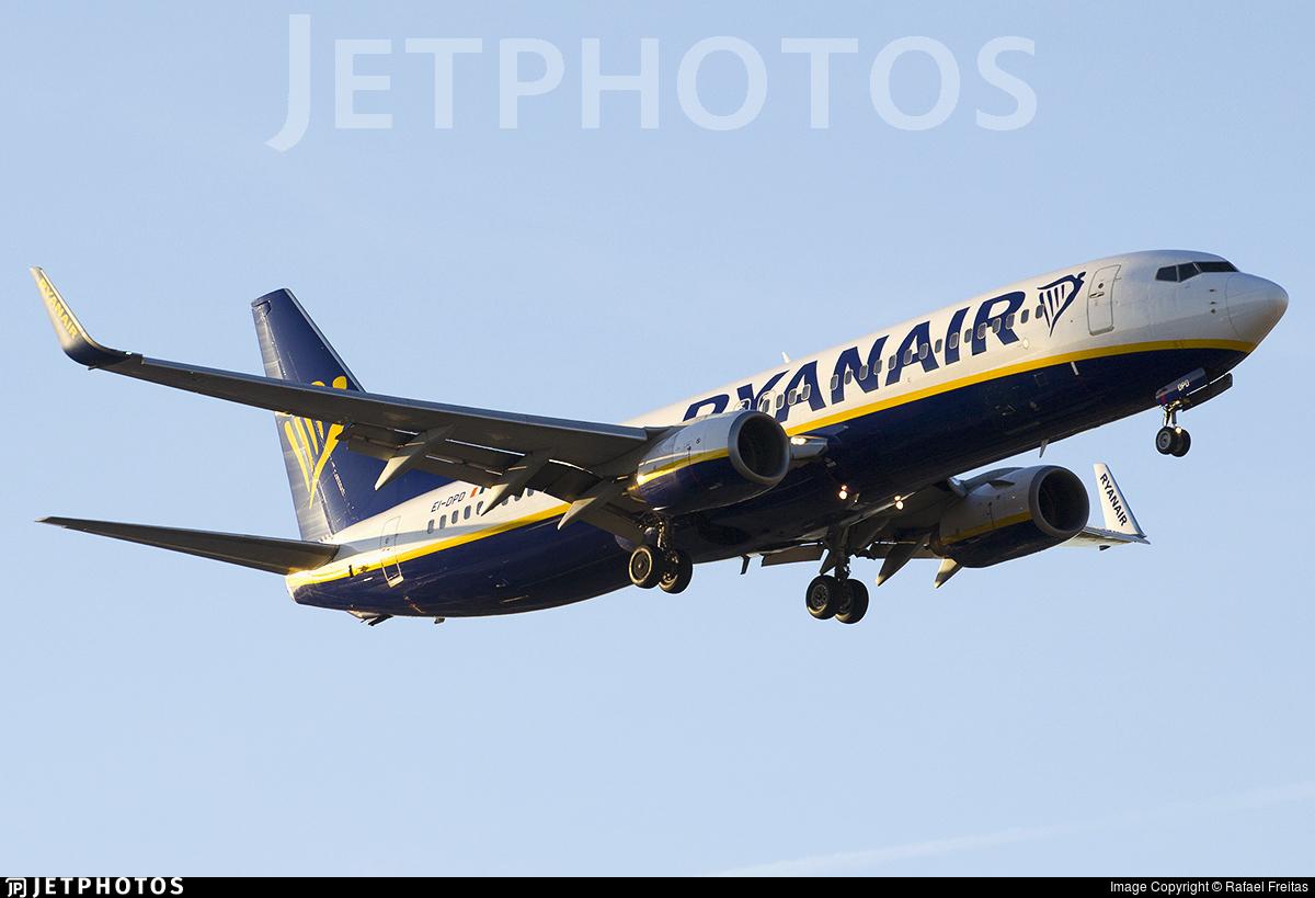 EI-DPD - Boeing 737-8AS - Ryanair