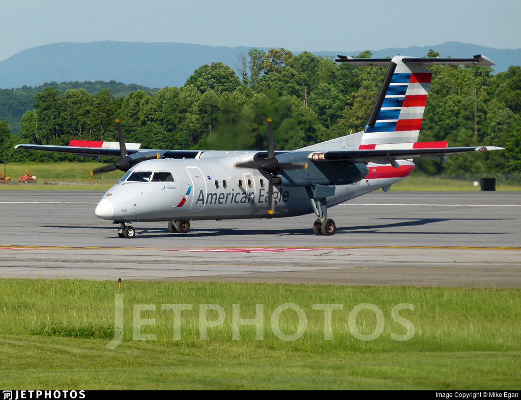 N809EX - Bombardier Dash 8-102 - American Eagle (Piedmont Airlines)