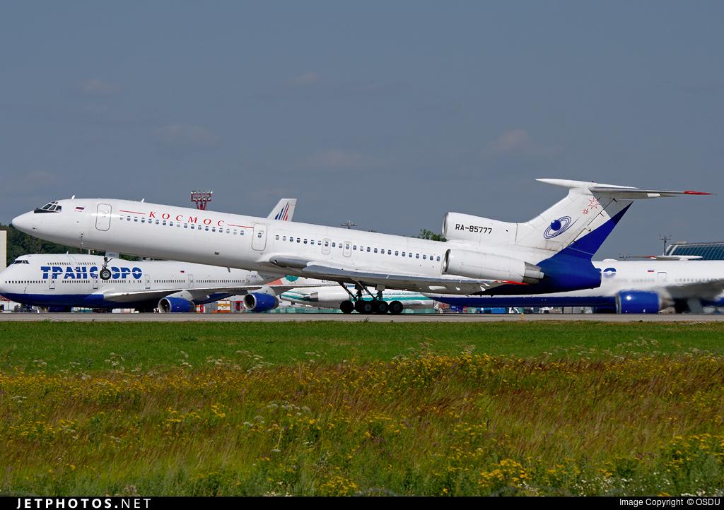 RA-85777 - Tupolev Tu-154M - Kosmos Airlines (KSM)