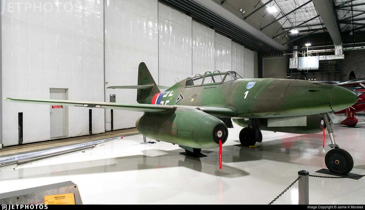 N262AZ - Texas Airplane Factory Me-262B-1C - Private