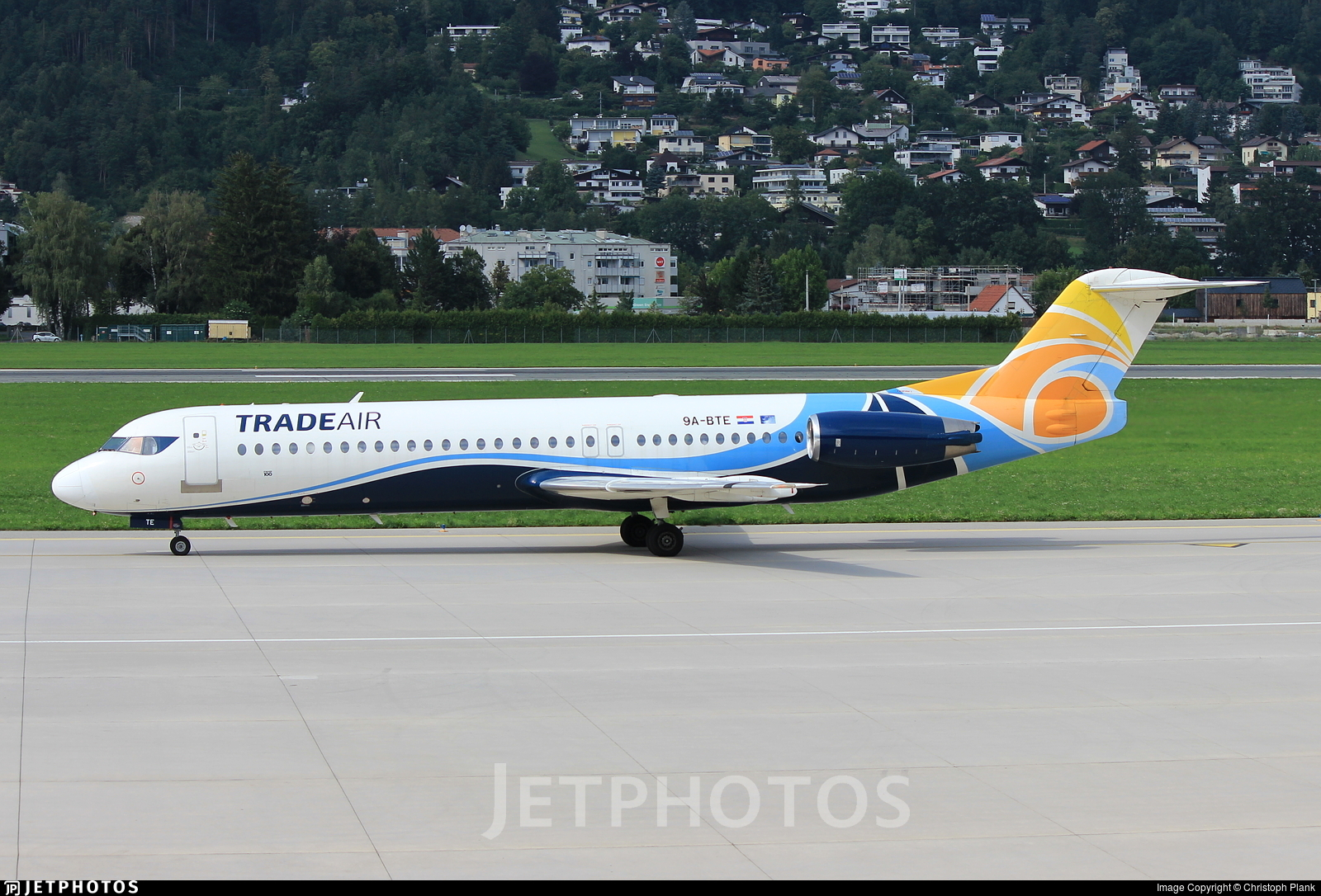 9A-BTE - Fokker 100 - Trade Air