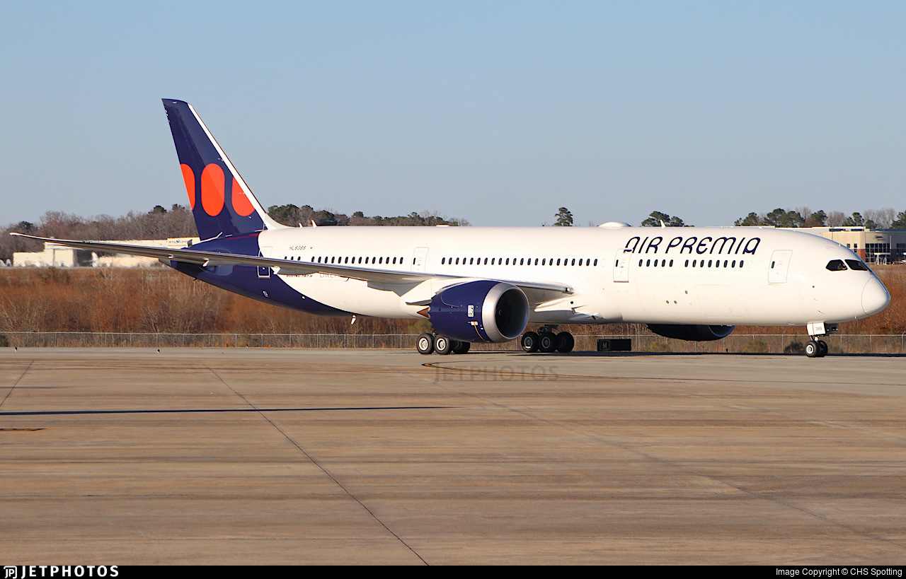 HL8388 - Boeing 787-9 Dreamliner - Air Premia