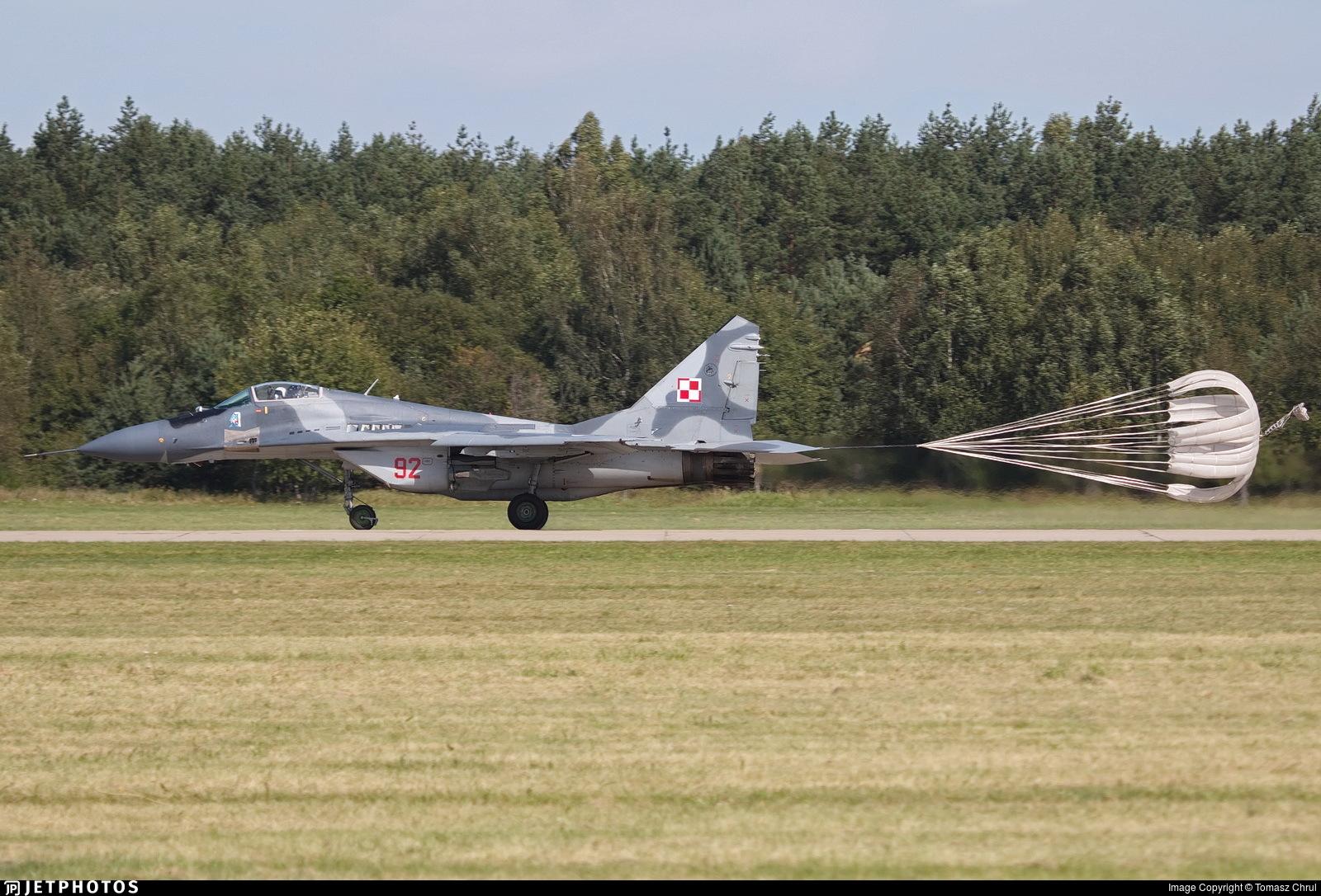 92 - Mikoyan-Gurevich MiG-29A Fulcrum - Poland - Air Force