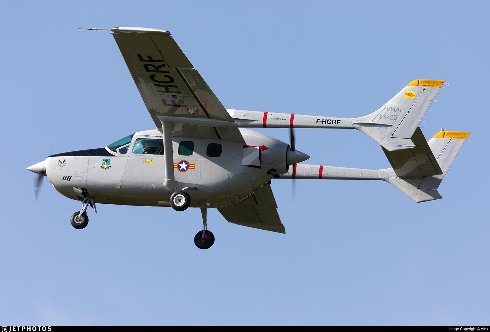 F-HCRF | Reims-Cessna F337G Super Skymaster | Private | Alex