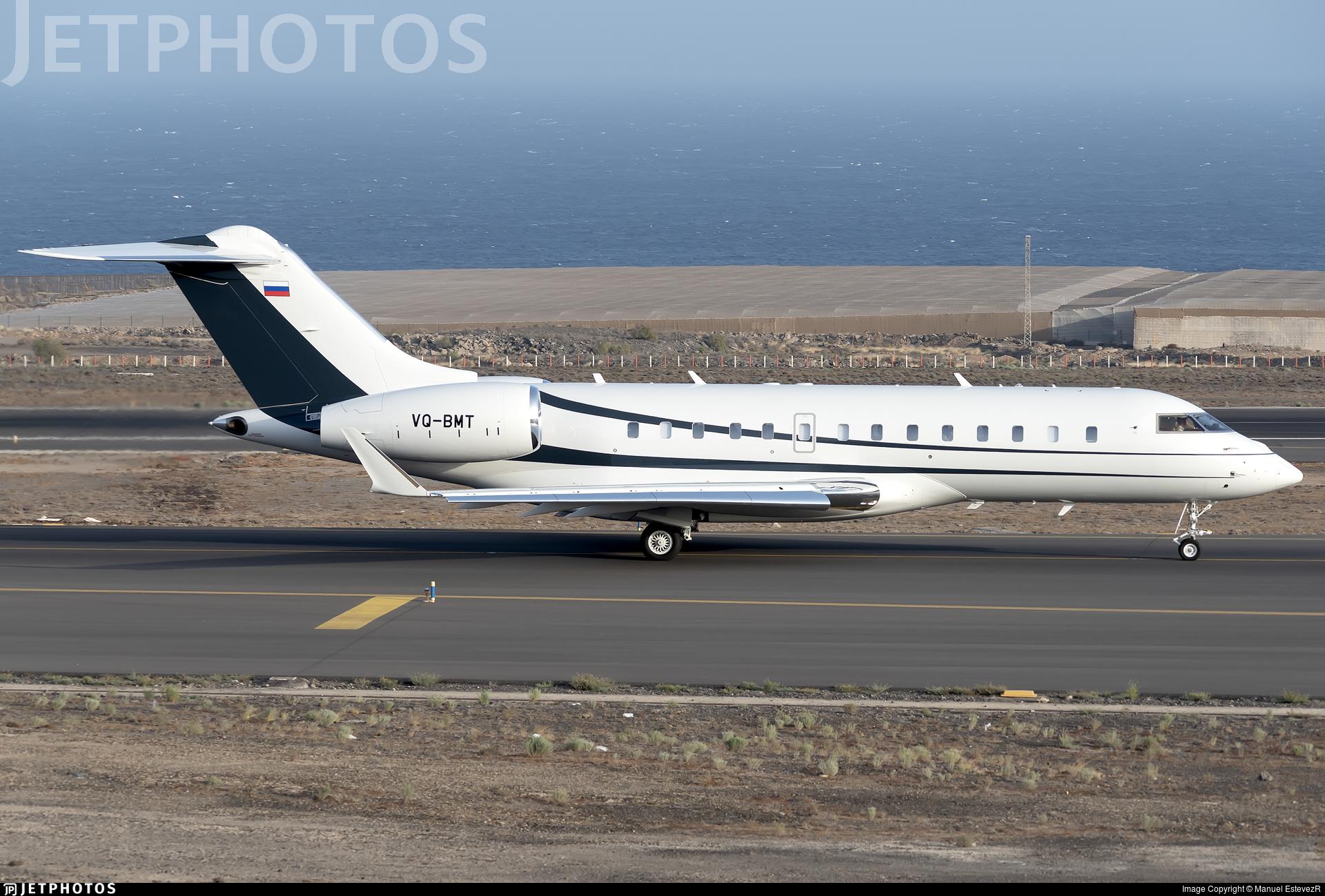VQ-BMT - Bombardier BD-700-1A11 Global 5000 - RusJet