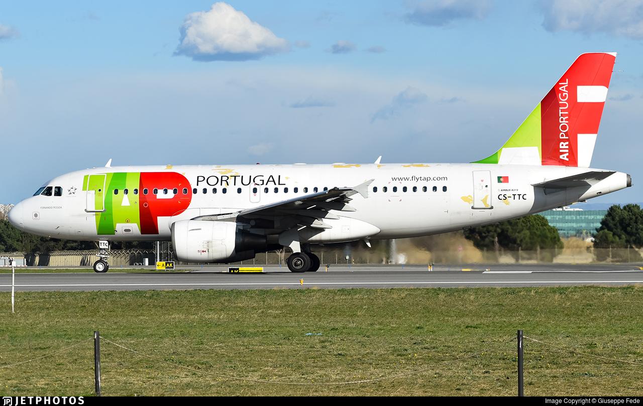 CS-TTC - Airbus A319-111 - TAP Air Portugal