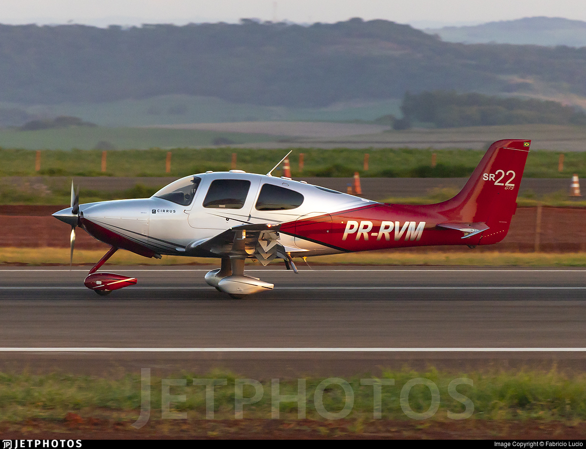 PR-RVM - Cirrus SR22-GTS G3 - Private