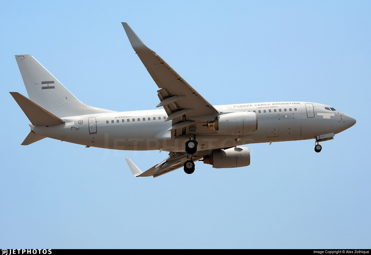 2-ACSM - Boeing 737-76N - Argentina - Air Force