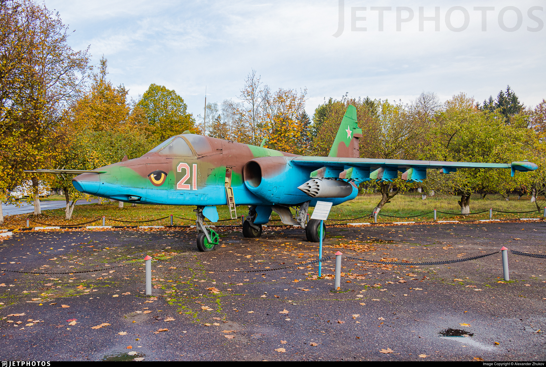 21 - Sukhoi Su-25 Frogfoot - Soviet Union - Air Force