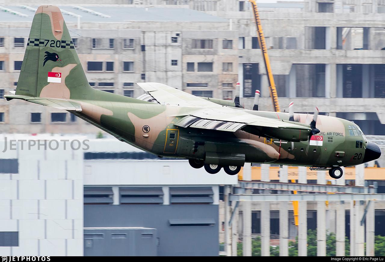 720 - Lockheed C-130B Hercules - Singapore - Air Force
