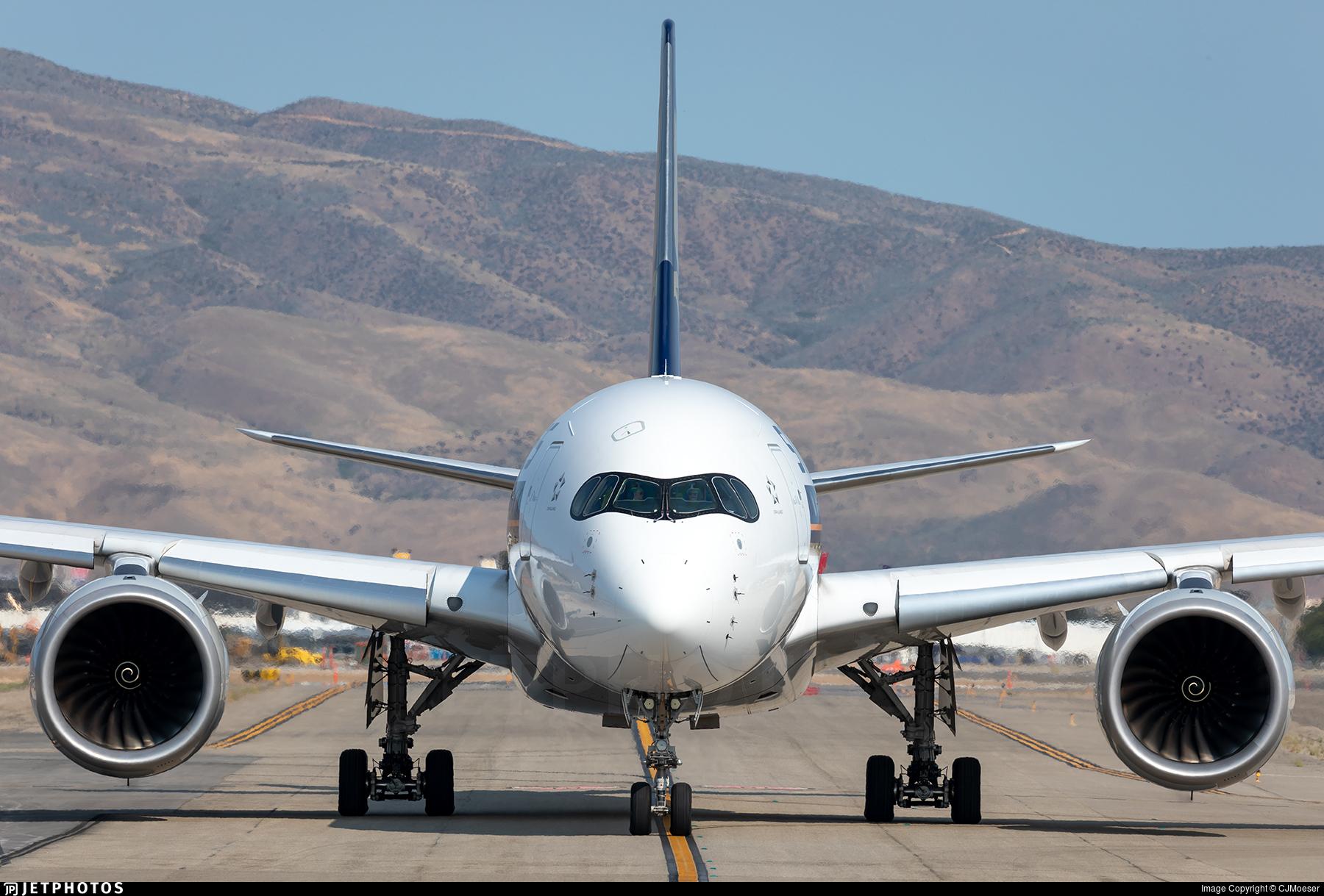 9V-SMW - Airbus A350-941 - Singapore Airlines