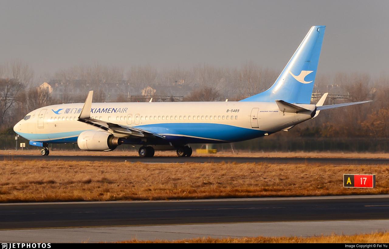 B-5489 - Boeing 737-85C - Xiamen Airlines