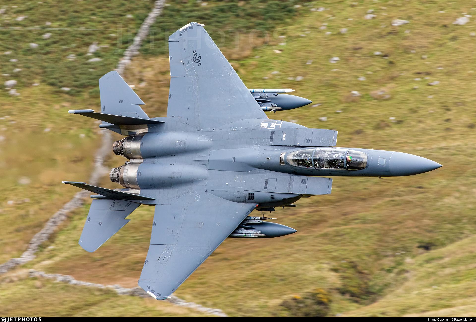 91-0327 - McDonnell Douglas F-15E Strike Eagle - United States - US Air Force (USAF)