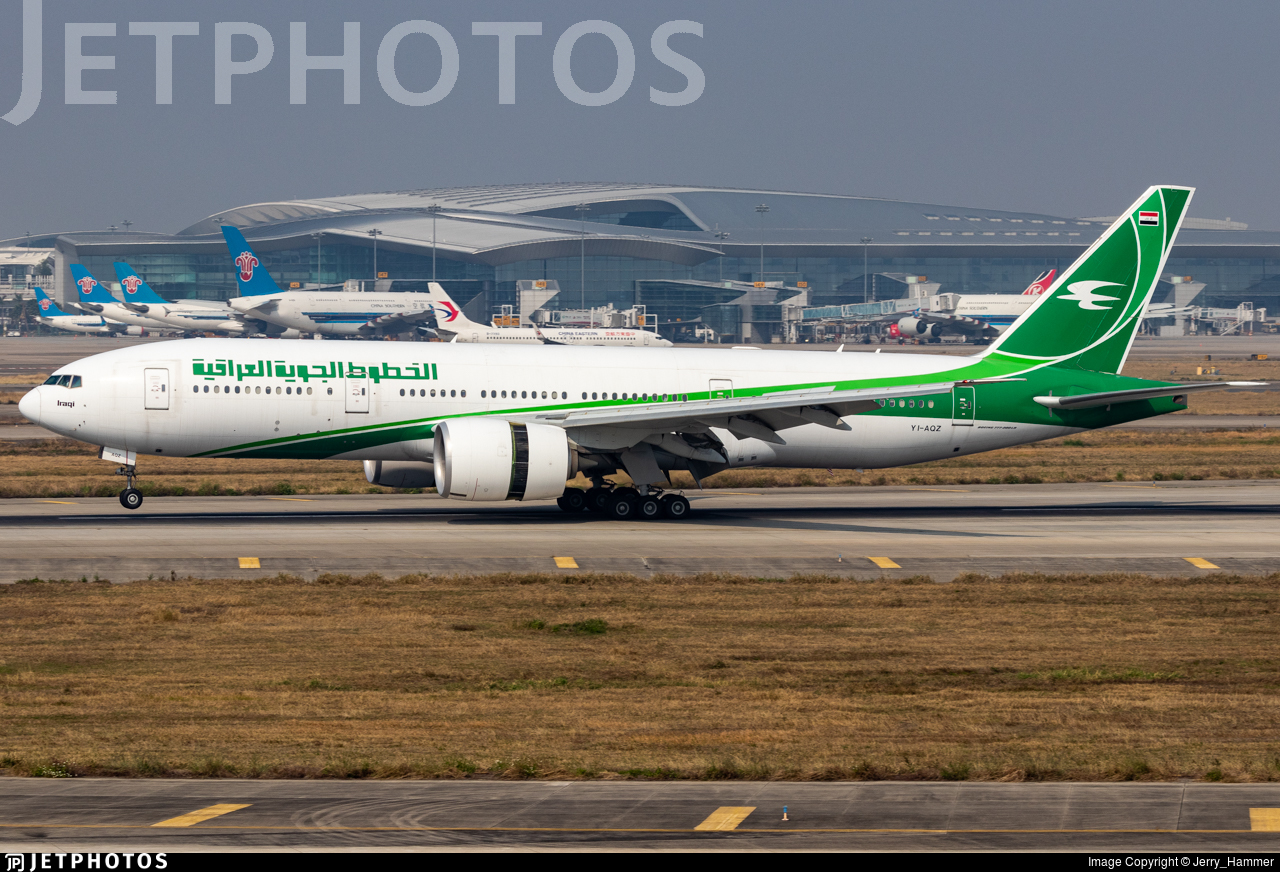 YI-AQZ - Boeing 777-29MLR - Iraqi Airways