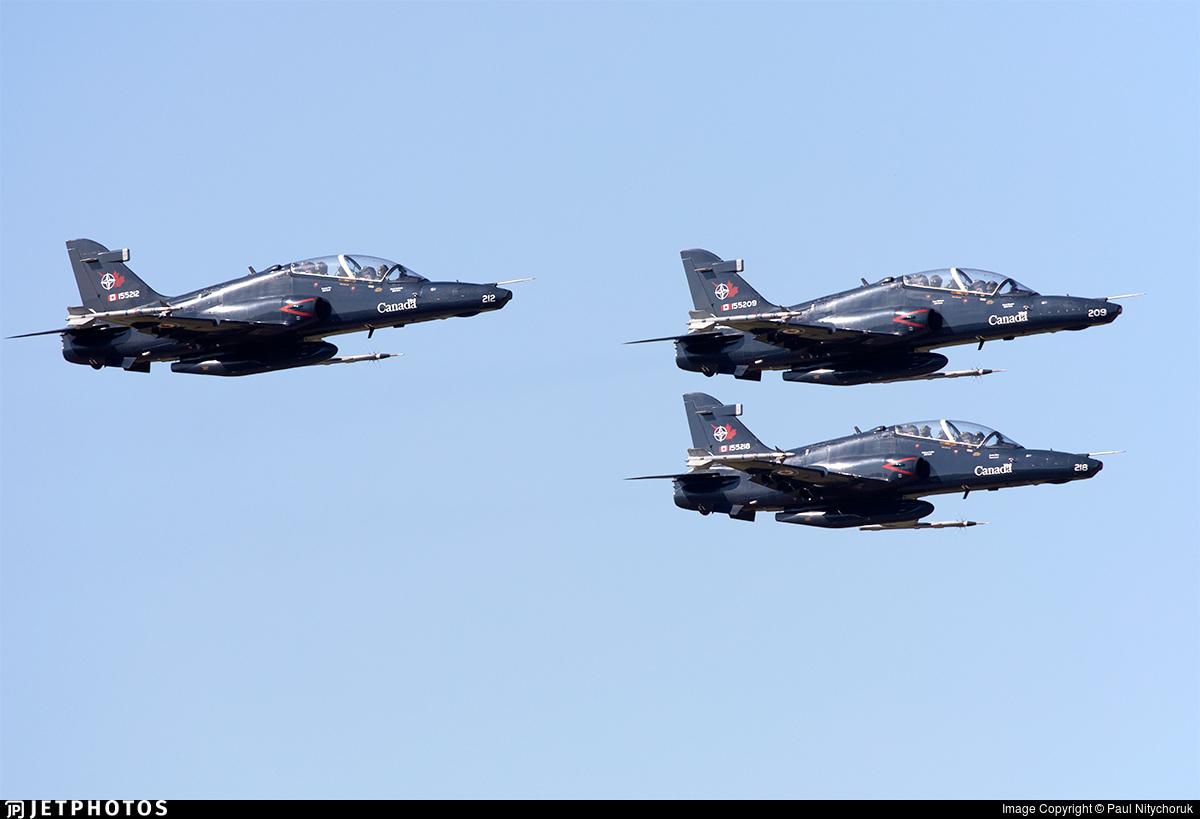 155209 - British Aerospace CT-155 Hawk - Canada - Royal Canadian Air Force (RCAF)