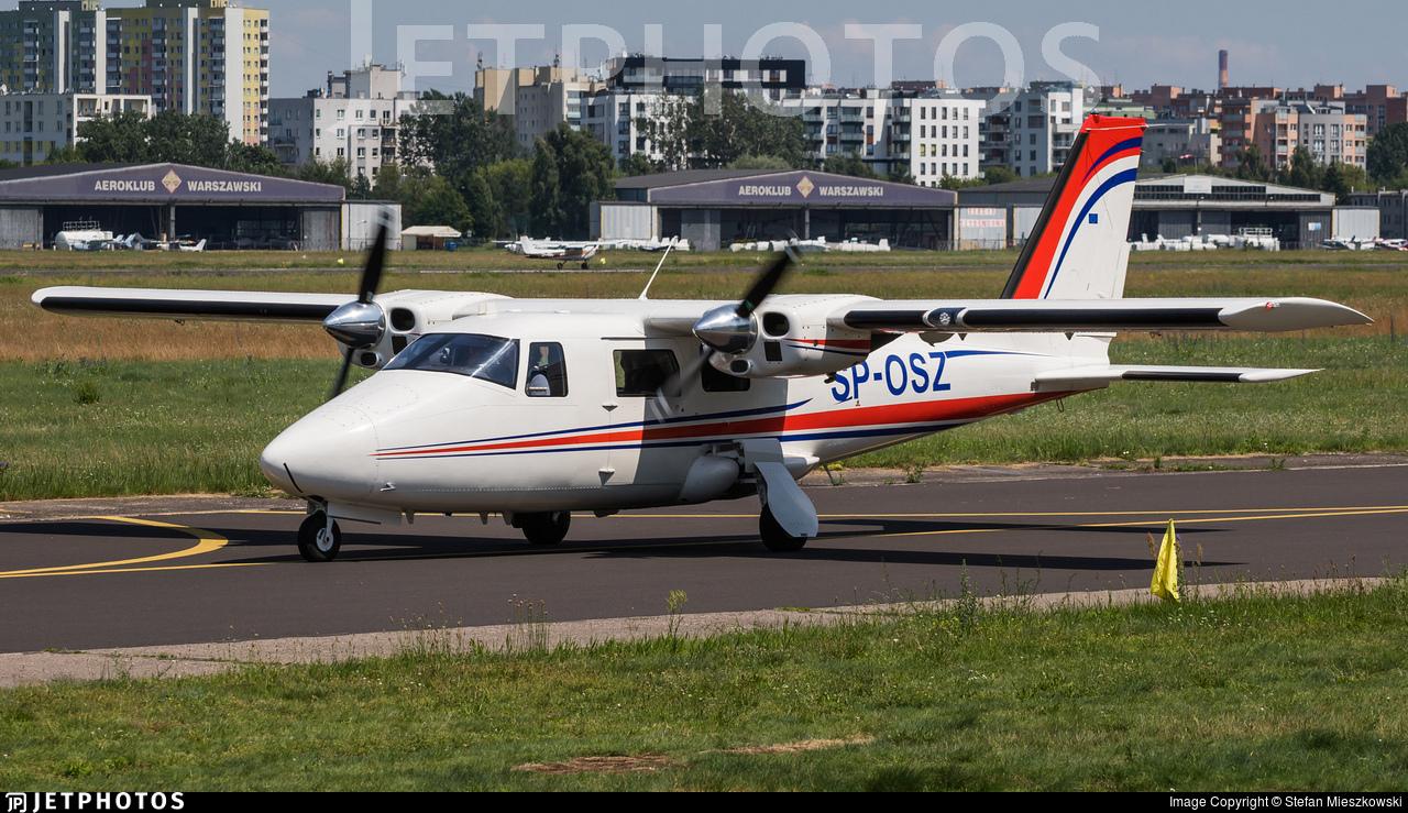 SP-OSZ - Vulcanair P.68R - Private