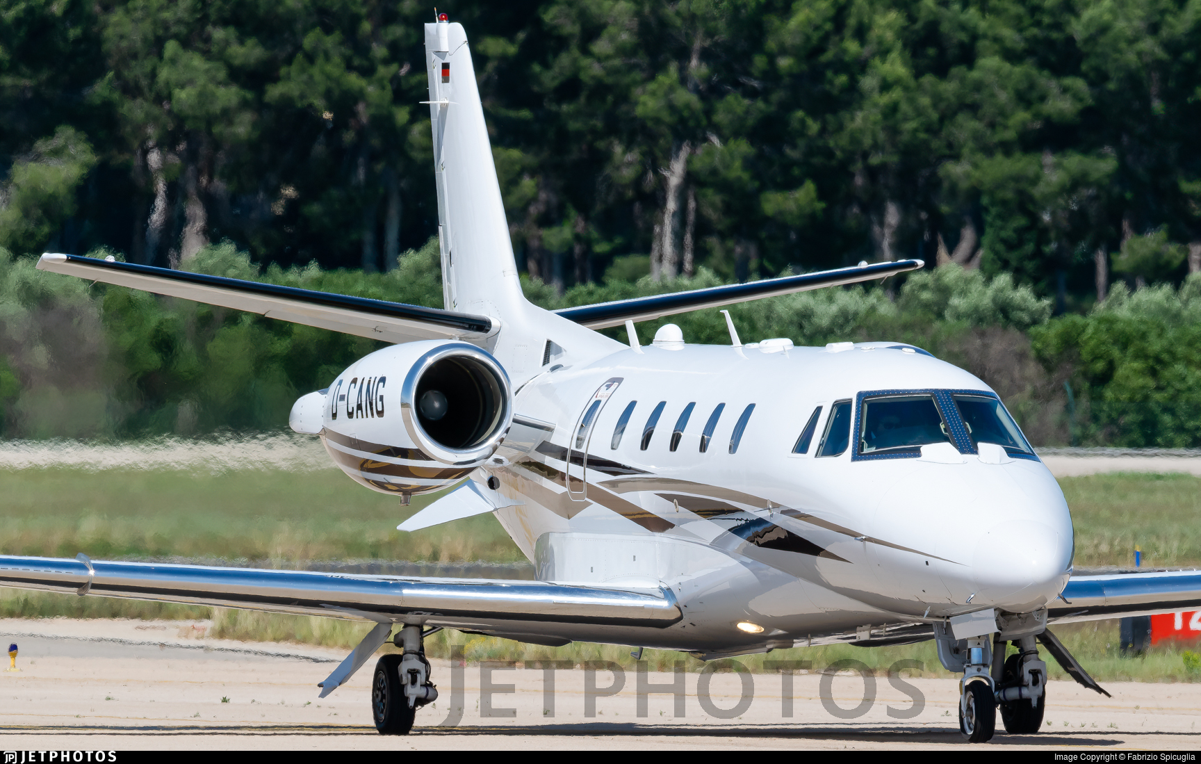 D-CANG - Cessna 560XL Citation XLS Plus - Air Hamburg