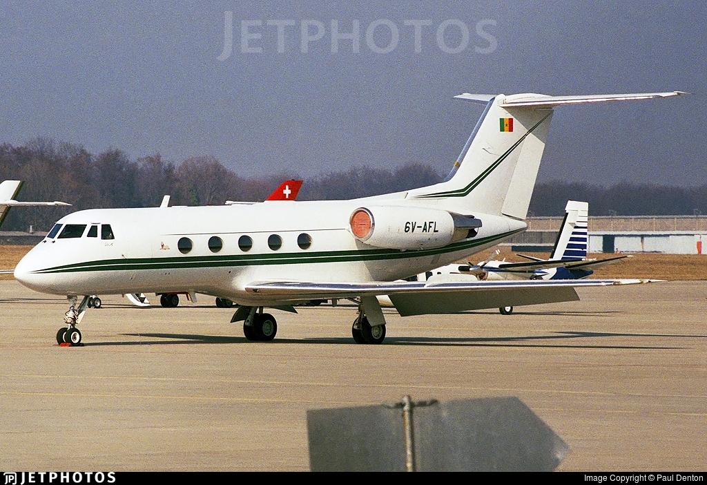 6V-AFL - Gulfstream G-II - Senegal - Government