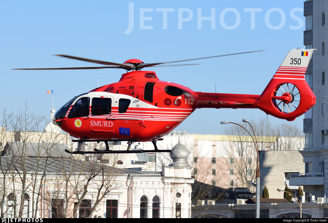 350 - Airbus Helicopters H135 - Romania - Emergency Rescue Service (SMURD)