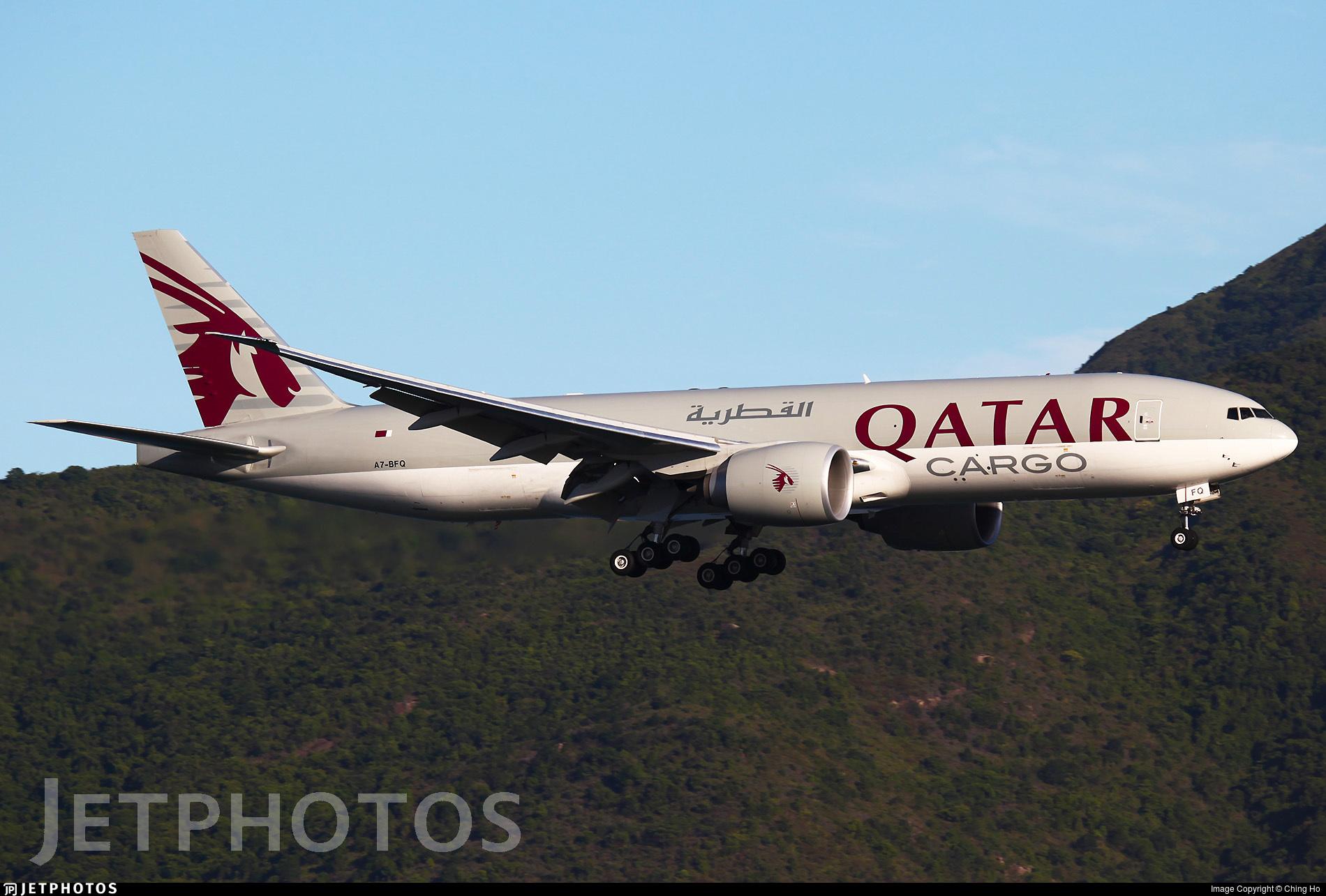 A7-BFQ - Boeing 777-FDZ - Qatar Airways Cargo