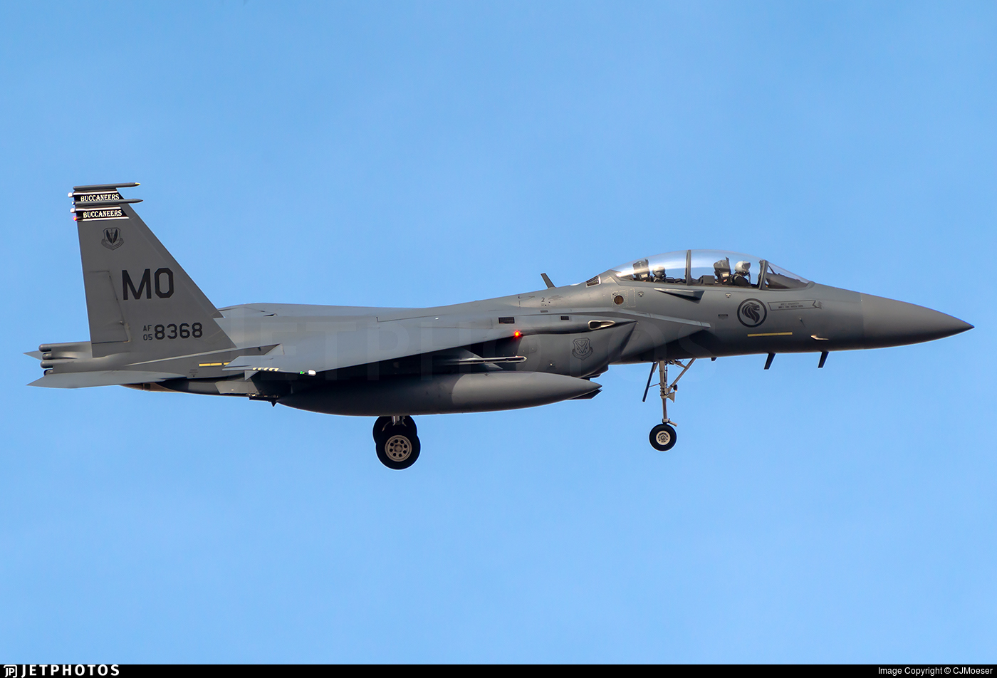 05-8368 - McDonnell Douglas F-15S Strike Eagle - Singapore - Air Force