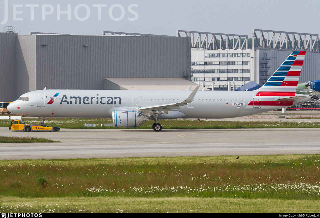 D-AVZI - Airbus A321-251NX - American Airlines