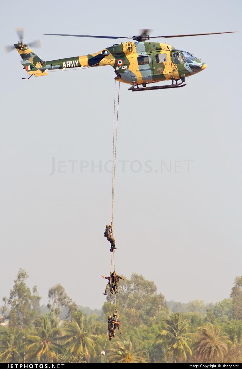 IA-1128 - Hindustan Aeronautics ALH Dhruv - India - Army